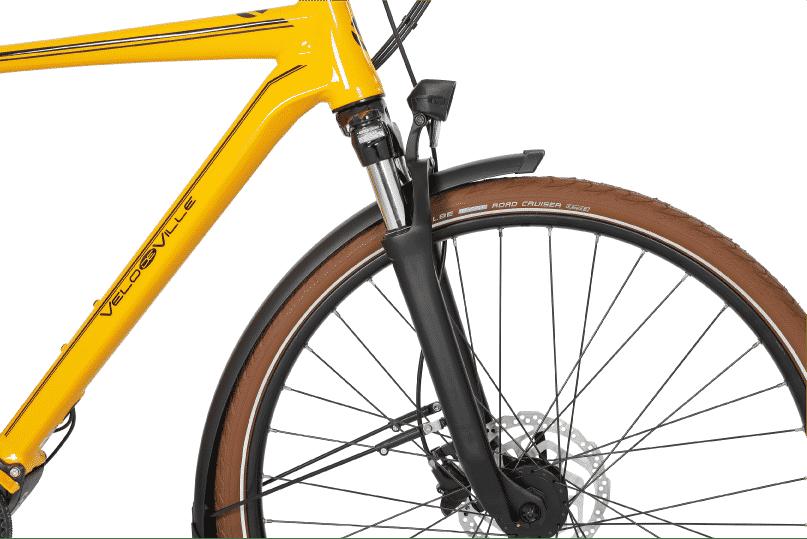 vélo citadin vélo de ville avec fourche