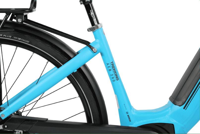 vélo électrique tout chemin cadre