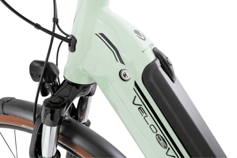 vélo électrique tout chemin batterie cadre