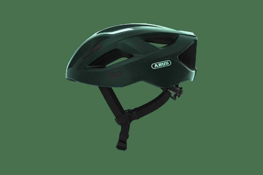 casque de vélo vert