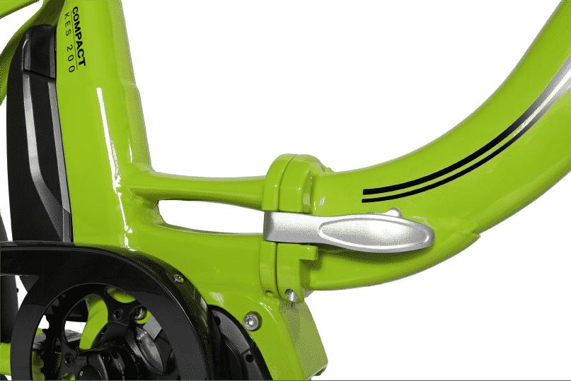 vélo électrique pliable KES200 Compact système de pliage