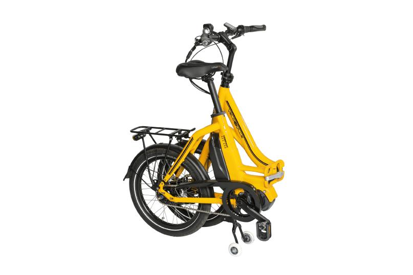 vélo électrique pliable plié