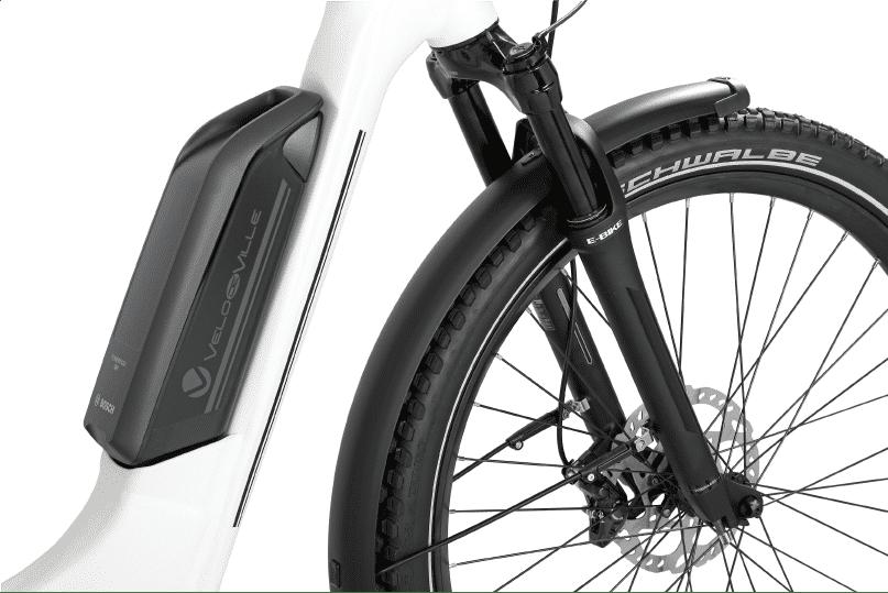 vélo électrique de ville batterie
