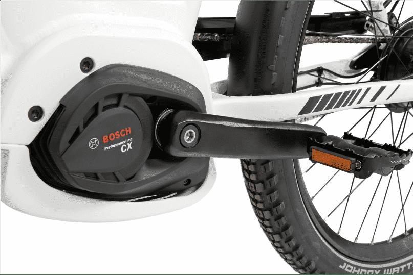 vélo électrique de ville moteur bosch