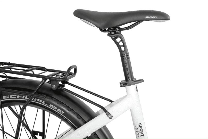 vélo électrique de ville selle