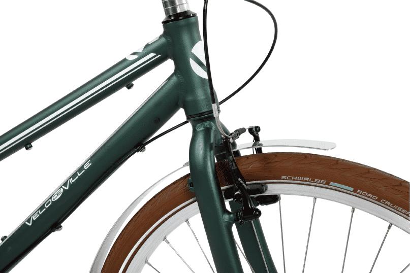 vélo vintage urbain cadre