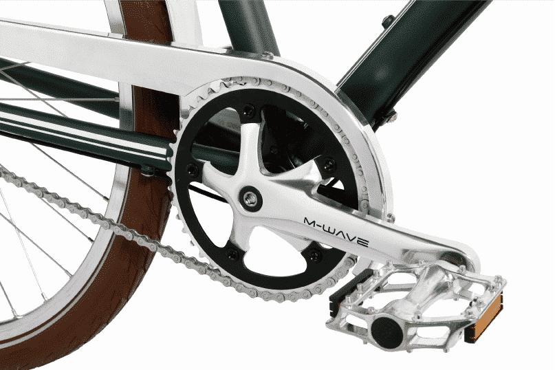 vélo vintage urbain pédalier
