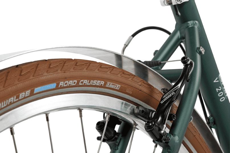 vélo vintage urbain roue