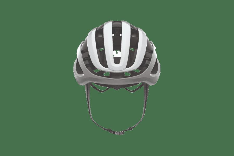 casque vélo route vue de face