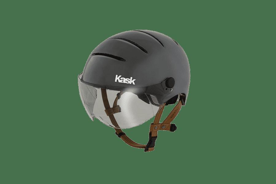 casque de vélo design antracite