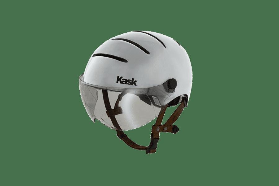 casque de vélo design gris
