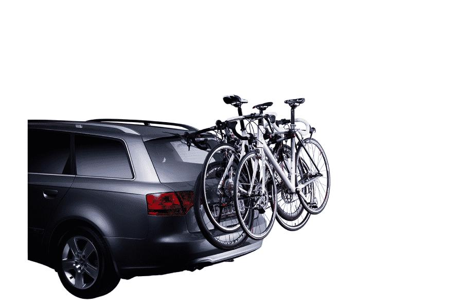 Porte-vélos coffre thule Clip on