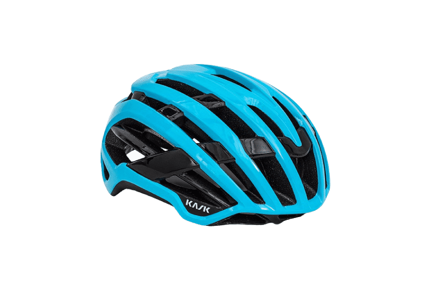casque de vélo performant bleu