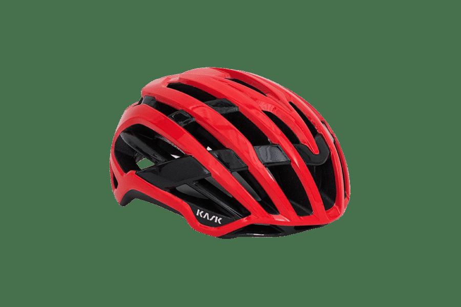 casque de vélo performant rouge