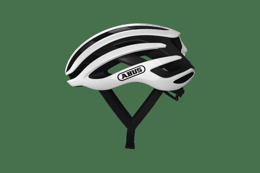 casque vélo route blanc